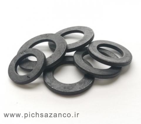واشر تخت فولادی استاندارد DIN6916