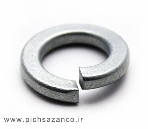 واشر فنری آهنی استاندارد DIN 127