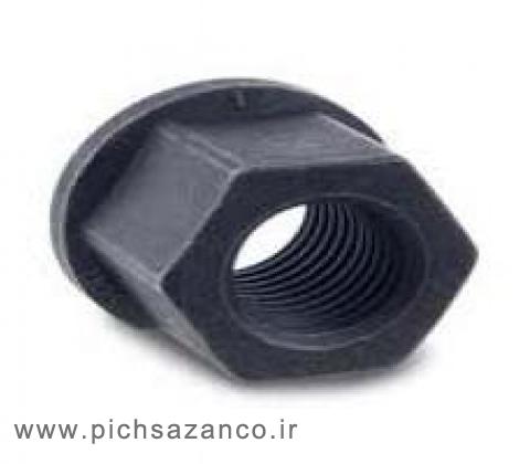 مهره واشر دار فولادی استاندارد DIN 6331